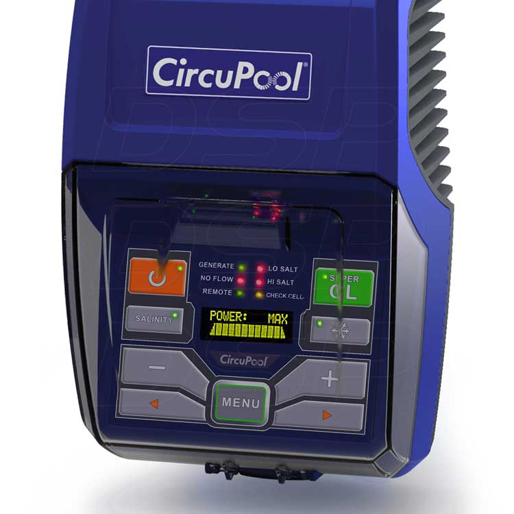 Circupool Rj 45 Saltwater Chlorinator For Up To 45000
