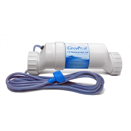 Replacement T 15 Cell For Hayward Aqua Rite Salt Pool Systems Made By Circupool