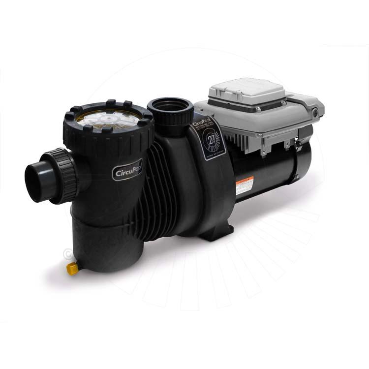 Circupool vj 3 enduraflo energy efficient programmable for Variable speed pool motors
